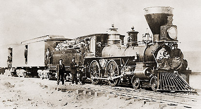 Railswest Com Pacific Railroad Unites Nation Fosters Growth
