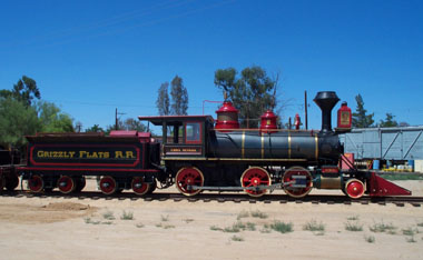Grizzly Flats locomotive No. 2 is a Mogul type locomotive (Richard Boehle photo)