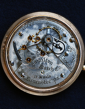 Hamilton 936 movement, mfg. 1898