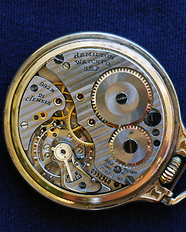 Hamilton 992B with an Elinvar hairspring - mfg 1936
