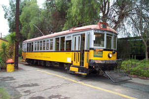 Los Angeles Railway Streetcar No. 525
