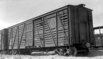 Missouri Pacific car, Denver Public Library. Call Number: OP-13219