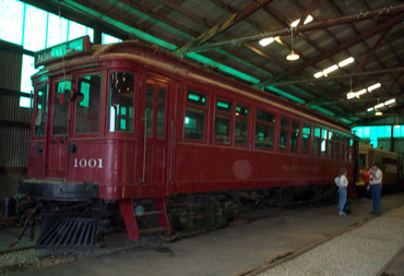 PE Business Car No. 1001 is eshibited at Orange Empire Railway Museum (Richard Boehle photo)