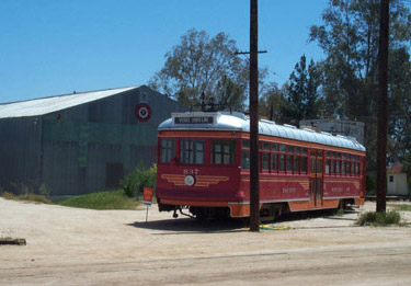 Pacific Eledctric Car No. 637 at Orange Empire Railway Museum (Richard Boehle photo)