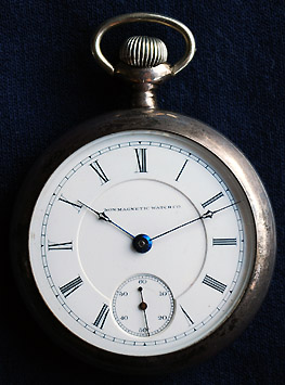 Non-Magnetic Watch Co. of America Model 2, mfg. by Peoria Watch Co, circa 1890