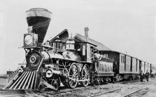 RailsWest com Railroad Beginnings in California