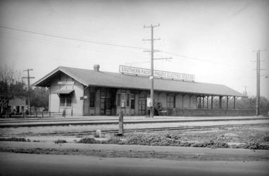 Southern Pacific Lankershim Station, 1927, LA DWP Photo Collection