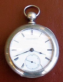 Appleton, Tracy & Co. 1857 model by American Watch Co. mfg. January 1866