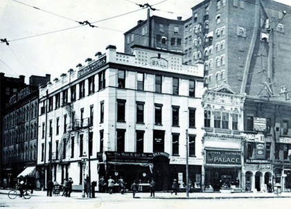 Ball Corner Store in Cleveland became the headquarters for the Ball Watch Company