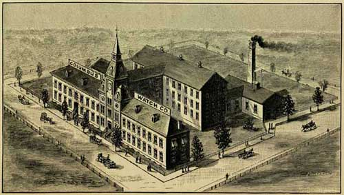 Columpus Watch Company Factory at Columbus, Ohio (from Henry G. Abbott)