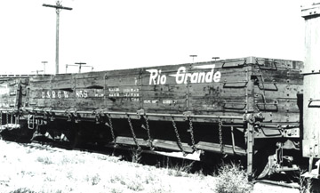 DRGW Gondola No. 859 (Richard Boehle Collection)