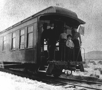 C&C Business Car No. 10 after 1903 (Nevada State Railroad Museum Collection)