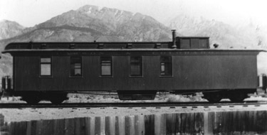 Early view of C&C Superintendents Car No. 10 (Stephen Drew Collection)
