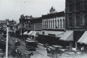 Main Street, Los Angeles, 1888