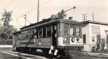 LA Ry No. 863 in Los Angeles