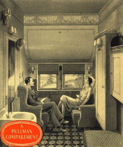 Pullman Compartment during the 1920's (Pullman Company)