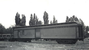 Virginia & Truckee Mail, Express, Baggage Car No. 21 built in 1907 (Richard Boehle collection)