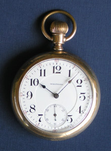 Waltham 1892 model Crescent Street 18 size pocket watch